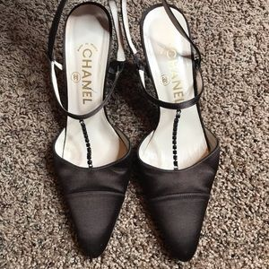 Chanel Satin Shoes